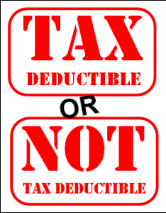 tax-deductible